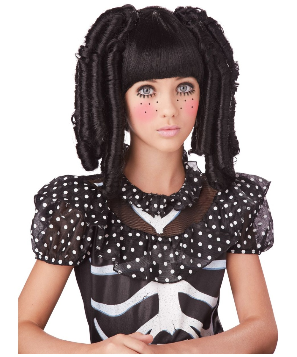 Rag Doll Curls Kids Wig Adult Wigs