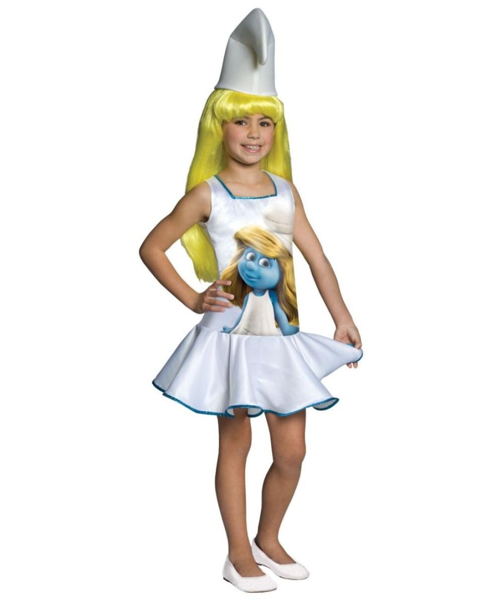 The Smurfs Kids Halloween Costume Girls Costumes  sc 1 st  Meningrey & Girl Smurf Costume - Meningrey