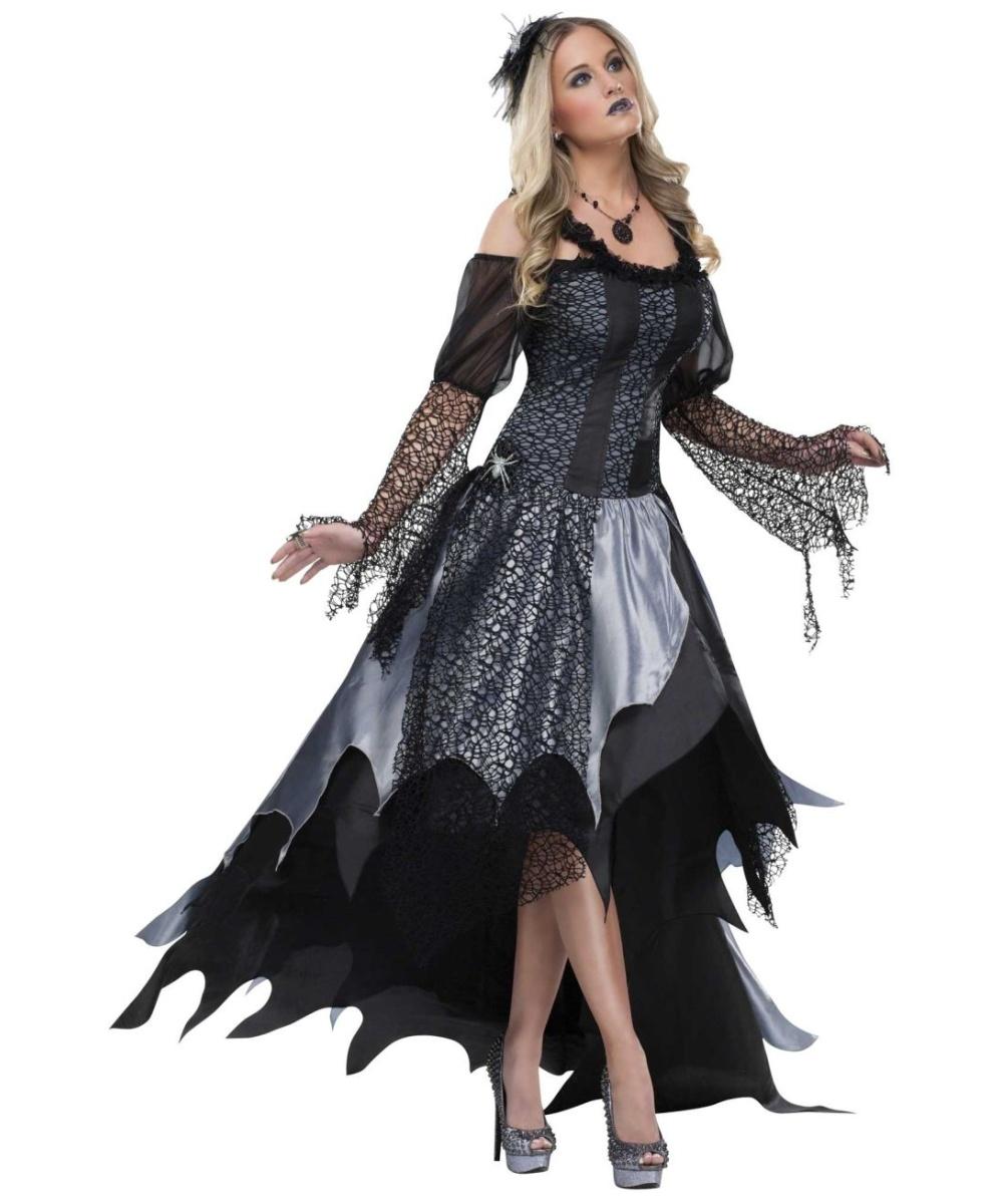 Adult Spider Queen Halloween Costume - Women Costumes