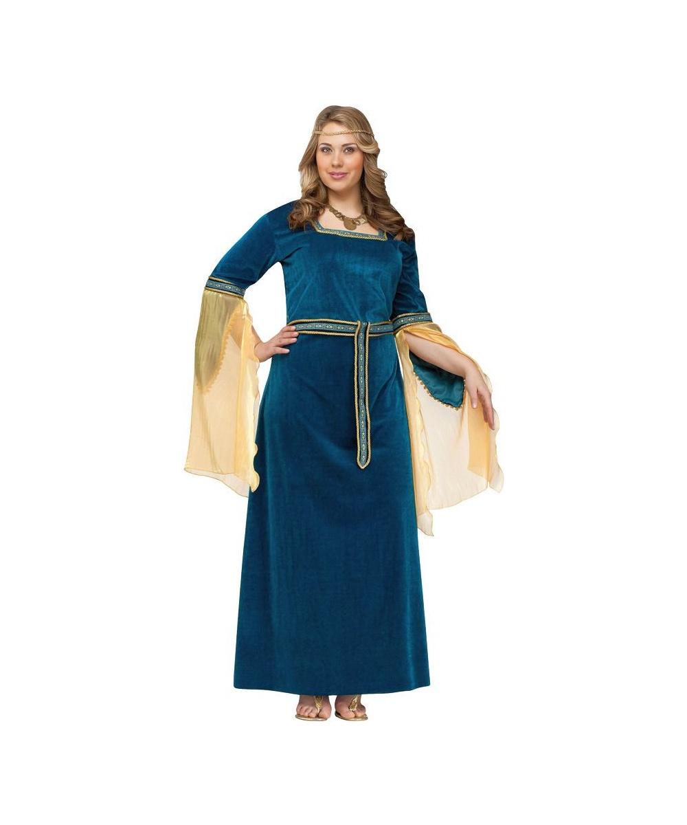 adult renaissance princess plus size costume - women costume