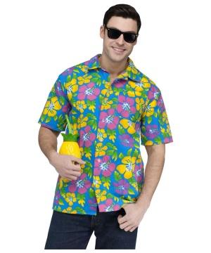 Aloha Tourist Mens Costume