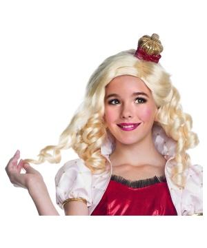 Apple White Royal Girls Wig