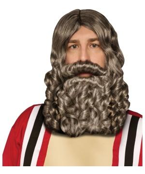 Biblical Wig Beard Combo Pack