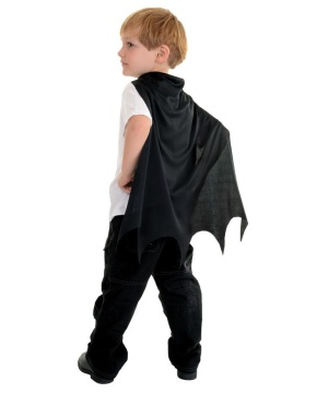Black Toddler Cape