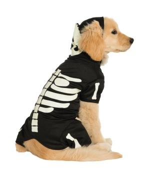 Bones Glow Pets Costume