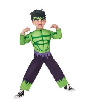Boys Hulk Baby Costume