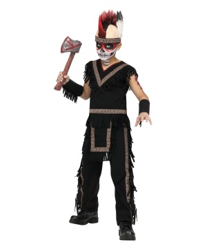 Boys Indian Warrior Costume