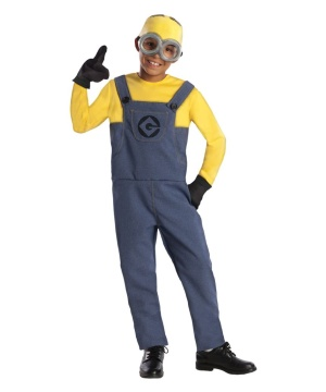 Boys Minion Despicable Me Costume