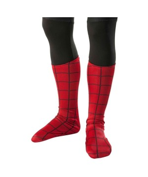 Boys Spiderman Boot Toppers