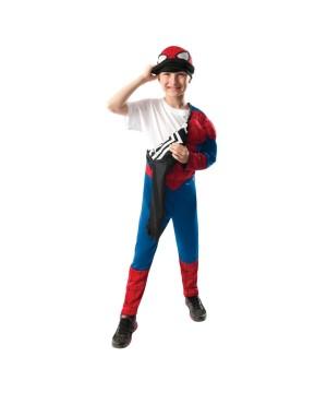 Boys Spiderman Reversible Costume