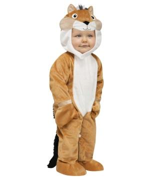 Chipper Chipmunk Unisex Baby Costume