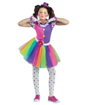 Just Clowning Around Girls Costume deluxe