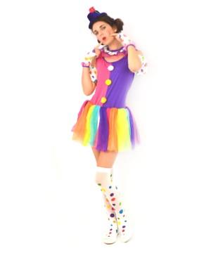 Clown Womens Costume