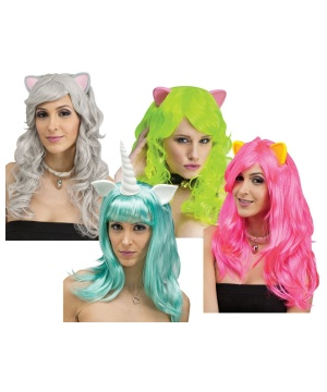 Cosplay Fantasy Ears Wig