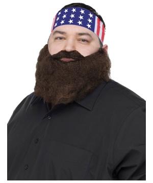 Crazy Quackers Bandana Beard Combo