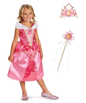 Disney Aurora Girls Costume Kit