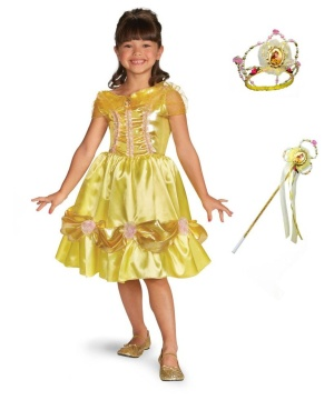 Disney Princess for a Day Belle Costume Kit