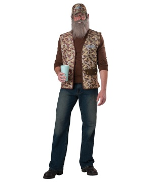Duck Dynasty Uncle Si Mens Costume