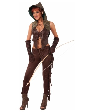 Elf Huntress Womens Costume