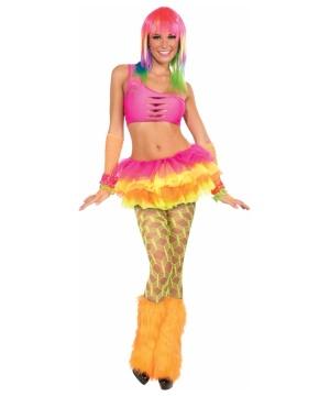 Fishnet Womens Pantyhose Green