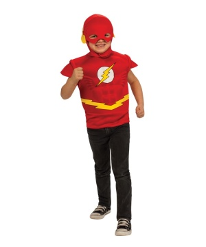 Flash Costume Set for Boys