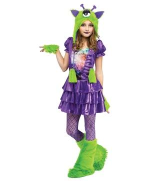 Galaxy Alien Cutie Girls Costume deluxe