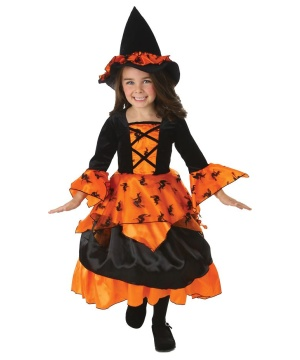 Girls Amelia Witch Costume