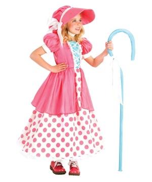 Girls Bo Peep Costume