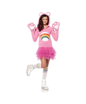 Girls Cheer Bear Costume
