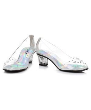 Girls Glass Slipper Princess Shoes