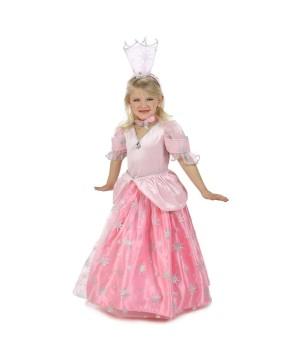 Girls Glinda Candy Pockets Costume