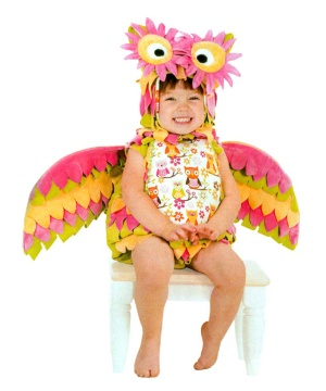 Girls Hootie Owl Baby Costume