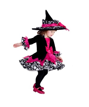 Girls Janie Witch Baby Costume