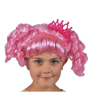 Girls Lalaloopsy Jewel Sparkles Wig