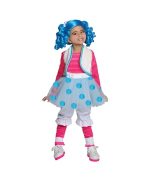 Girls Mittens Costume
