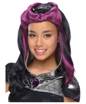 Girls Raven Queen Wig