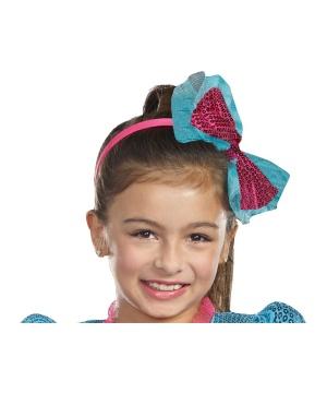 Girls Sequin Headband Turquoise