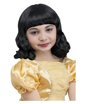 Girls Snow White Wig