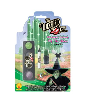 Girls Wicked Witch Makeup Kit
