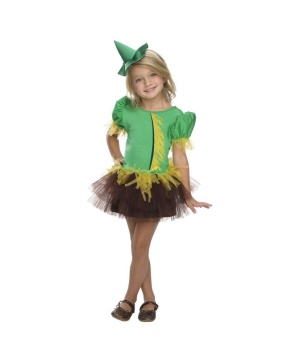 Girls Wizard Oz Scarecrow Costume