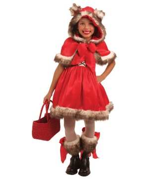 Girls Wolf Costume