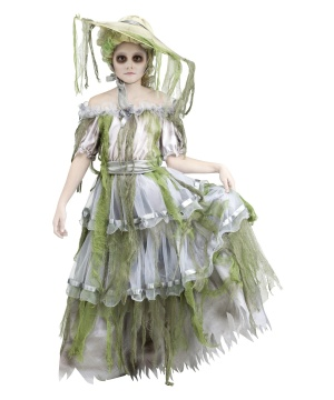 Girls Zombie Southern Belle Costume