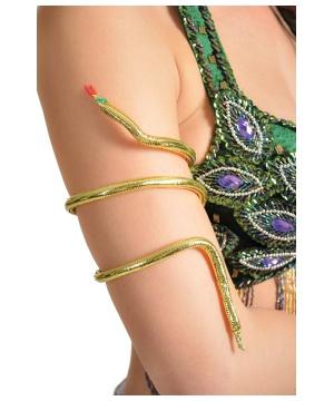 Golden Snake Armband