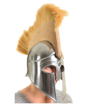 Greek Spartan Warrior Armor Helmet