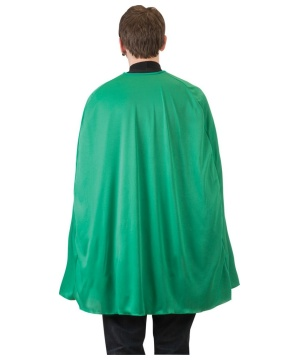 Green Superhero Cape