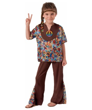 Groovy 60s Hippie Boys Costume