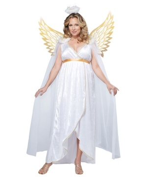 Guardian Angel plus size Costume