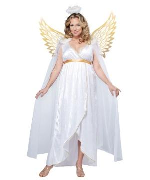 Guardian Angel plus size Costume