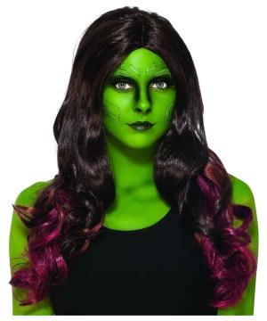 Guardians Galaxy Gamora Wig