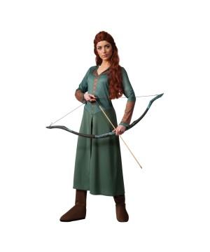 Womens Huntress Countess Everdeen Costume